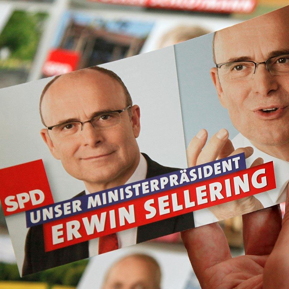 SPD Landtagswahlkampf Mecklenburg-Vorpommern 2011