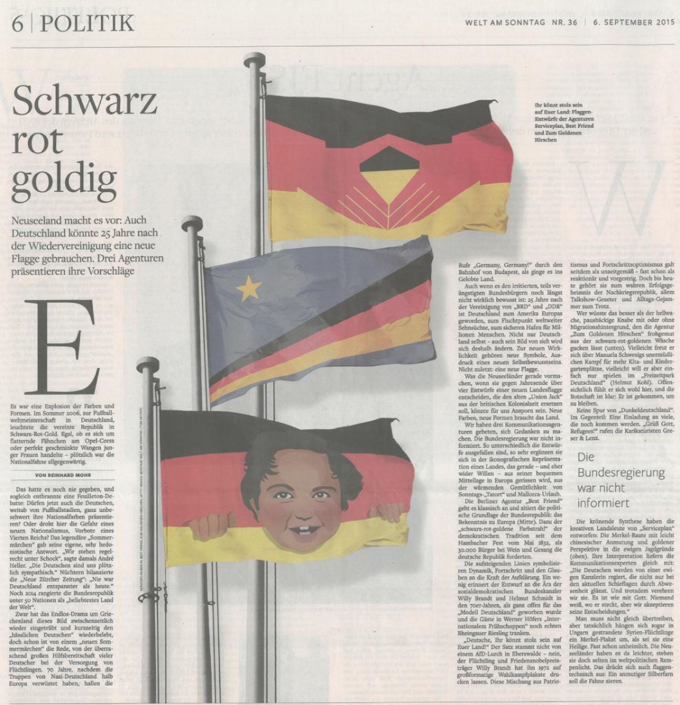 Eine Neue Flagge Für Deutschland