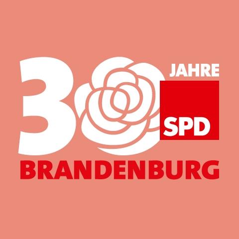 Website von BEST FRIEND für 30 Jahre SPD in Brandenburg